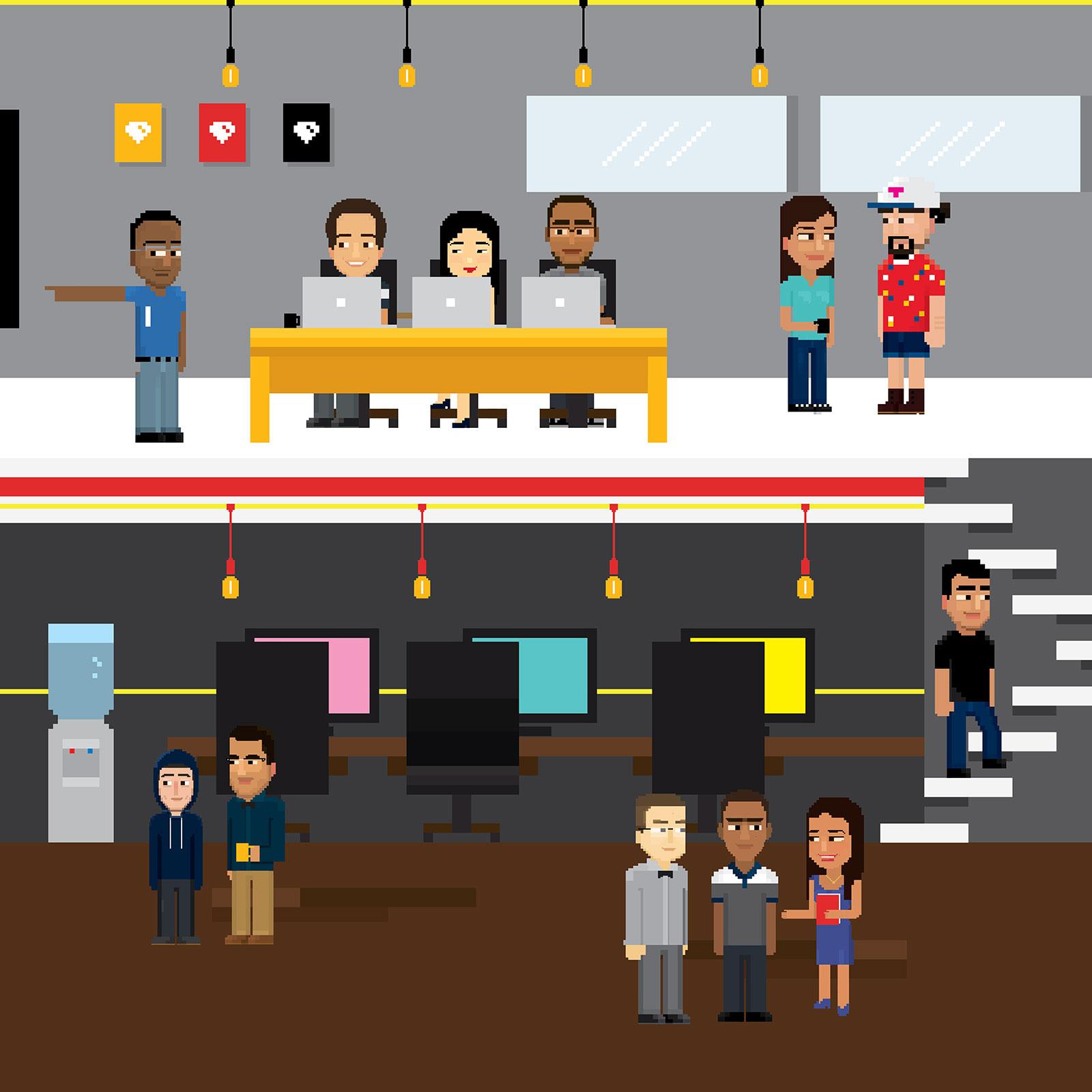 Pixel crew 01